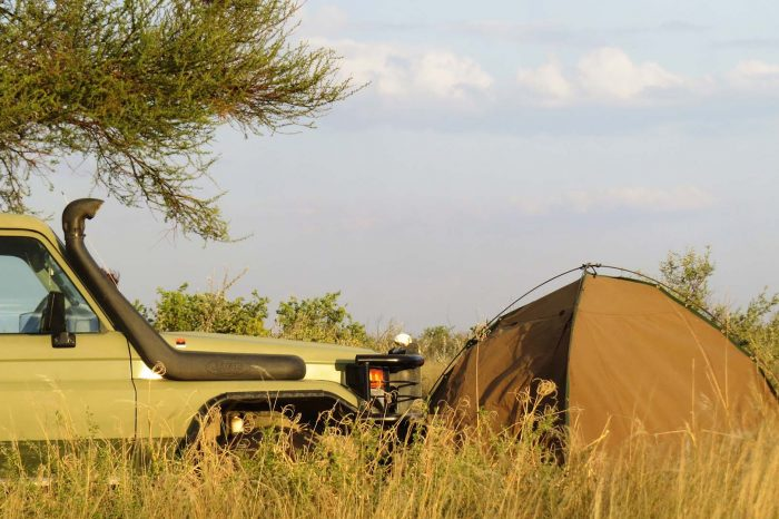 5 Days Budget Camping Safari