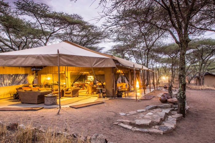 6 Days  Tented Lodge Safari